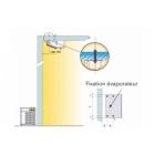 Groupe froid negatif split horizontal plafonnier 0 à 2 m3