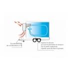 Groupe froid negatif tampon pour remorque 12 à 24 m3
