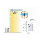 groupe froid negatif split plafonnier horizontal 2 à 4 m3
